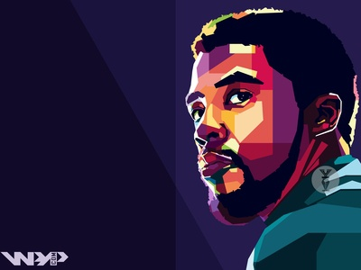 """Avengers: End Game """"Black Panther WPAP"""""""