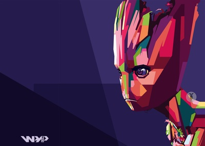 "Avengers: End Game ""Groot WPAP"""