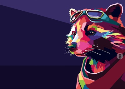 "Avengers: End Game ""Rocket Racoon WPAP"""
