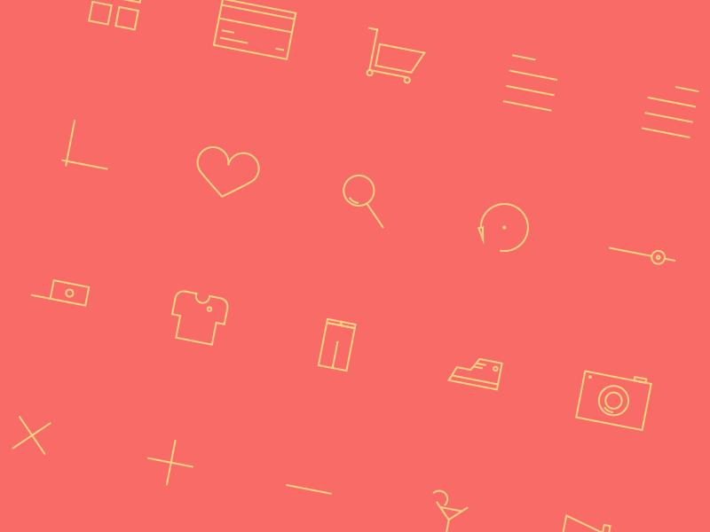 40 Free Icons + Webfont icons illustration webfont freebie icon set outilned icons stroked icons minimal icons svg ecommerce