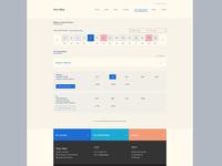 Calendar Widget / Appointment + UI