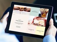 Coffee Shop Web Design + Blog Post