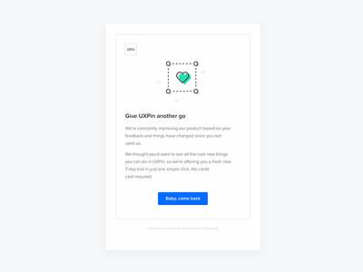 Email Notification flat minimal icon design uxpin illustration notification email mailing