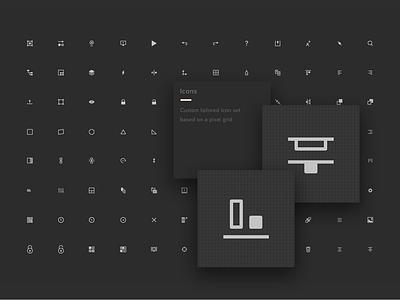 UXPin Editor Icons design icons ui product design editor uxpin icons
