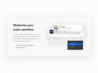 UXPin upcoming website (WiP)