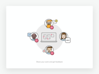Onboarding illustrations (WiP)
