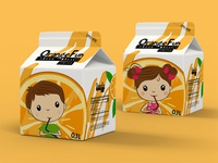 Organic juice box design concept
