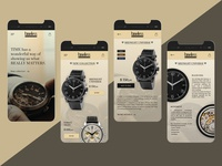 UI concept for Timeless Luxury