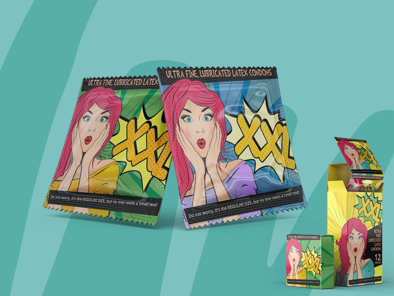 Design concept for condom packaging