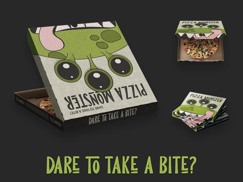 Pizza Monster Box