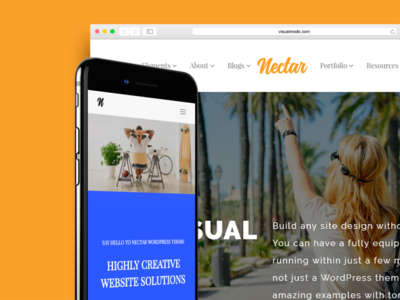 Nectar WordPress Theme Responsive Multi Purpose