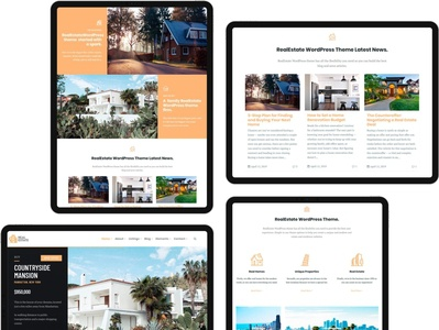 Tabled View - RealEstate WordPress Theme