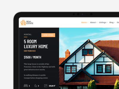 Real Estate WordPress Theme - Social Media Banner property developer property listing page listings real estate app real estate branding real estate agency real estate agent real estate slider design page builder web development web design plugins responsive site builder template theme wordpress