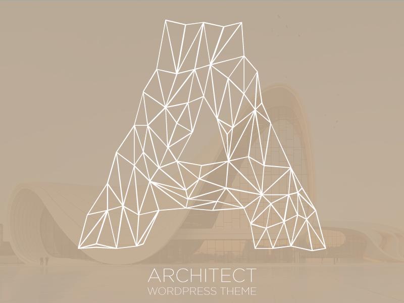 Dribbble architect wordpress theme