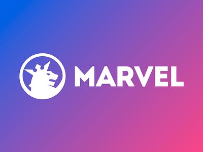 Marvel WordPress Theme Logo - Vertical Menu Template site builder responsive agency template theme navigation header menu vertical wordpress logo