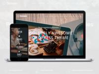 Stream - Landing Page WordPress Theme by Visualmodo