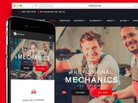 Mechanic WordPress Theme - Responsive Workshop