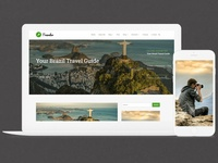 Traveler WordPress Theme   Responsive Blog Builder