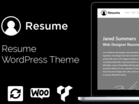 Resume WordPress Theme   Cv Website Builder   Portfolio