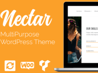 Nectar WordPress Theme Presentation