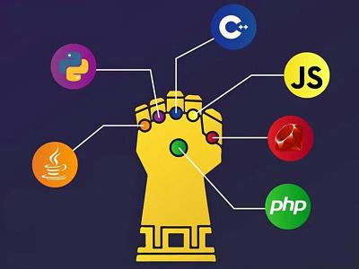 Web developer infinity stones super heroes sites programmers codes web site builder avengers developer web