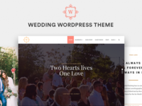 Wedding WordPress Theme Preview