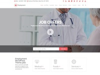 Employment WordPress Theme - Home