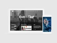 Music WordPress Theme - Responsive Musician Site Builder