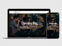 Education WordPress Theme - Responsive View