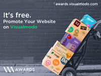Visualmodo Awards - Promote Your Site For Free