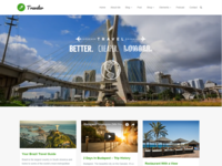 Blog Masonry - Traveler WordPress Theme