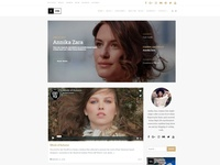Blog Front-Page - Ink WordPress Theme