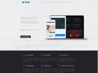 Home Page - Peak WordPress Theme