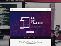 IT WordPress Theme - Tech & Startup Website Builder