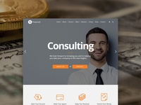 Financial WordPress Theme - Consulting Site Builder