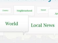 global homepage design