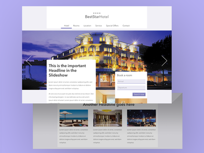 Hotel Website Template