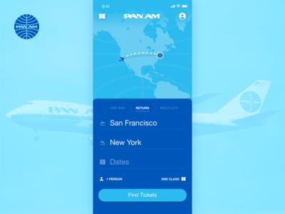Pan Am App Concept