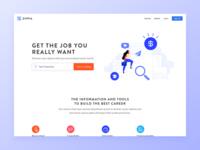 Zippia Homepage Redesign