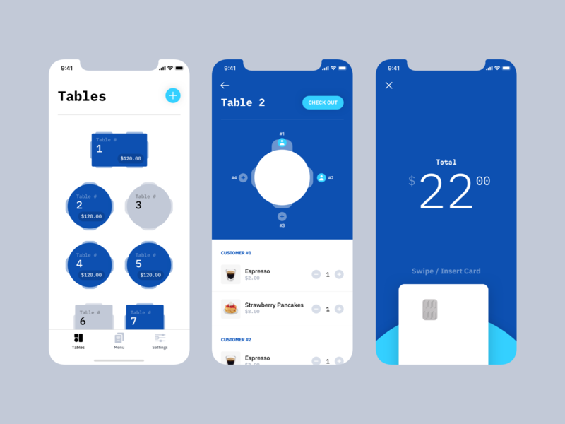 Point of Sales App Concept icon typography branding brand payment mobile ui ios app design fintech point of sales point of sale