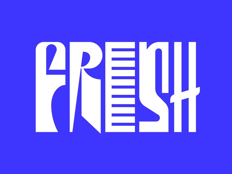 Fresh illustration letters instagram lettering typedesign design faelpt type typography fresh