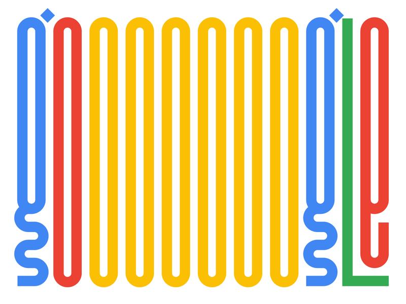 Gooooooogle graphic design letters instagram lettering typedesign design faelpt type typography doodle google