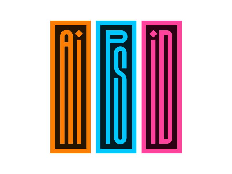 Adobe Creative Trilogy typedesign letters instagram type design lettering faelpt typography indesign photoshop illustrator adobe