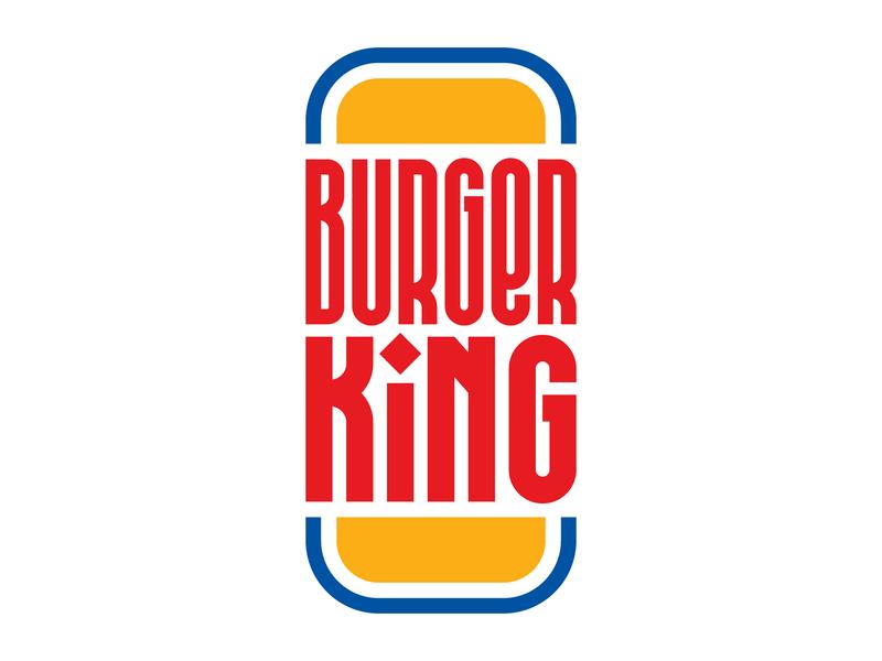 Burger King illustration letters instagram lettering typedesign design faelpt type typography burger burger king