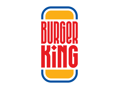 Burger King illustration letters instagram lettering typedesign design faelpt type typography burger burger king