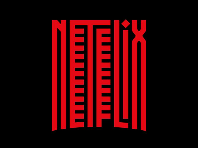 Netflix illustration graphic design letters instagram lettering typedesign design faelpt type typography netflix