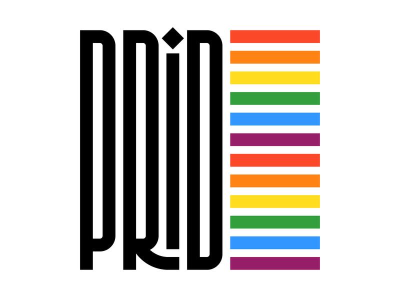 Pride 🏳️🌈 illustration letters instagram lettering typedesign design type faelpt typography pride month pride