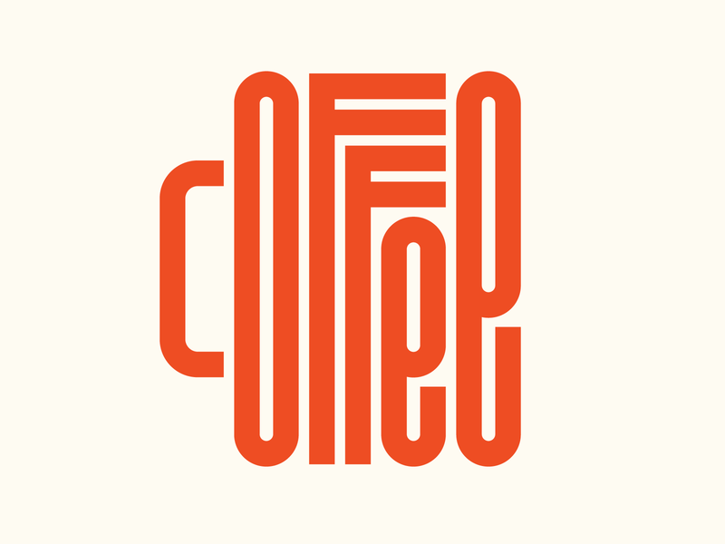 Coffee bespoke graphic design letters instagram lettering typedesign design faelpt type typography coffee