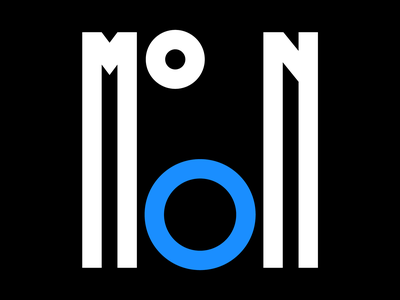 Moon illustration graphic design letters instagram lettering typedesign design faelpt type typography moon