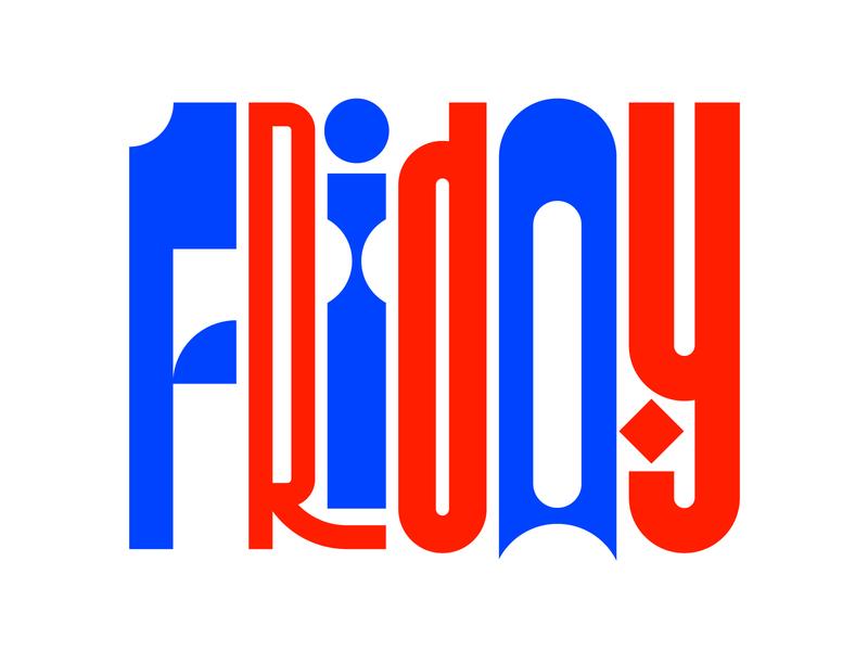Friday illustration graphic design letters instagram lettering typedesign design faelpt type typography friday